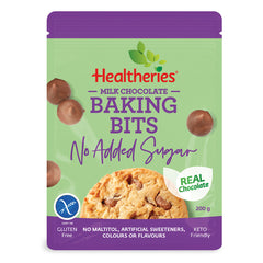 Keto Store NZ | Healtheries Milk Chocolate Baking Bits