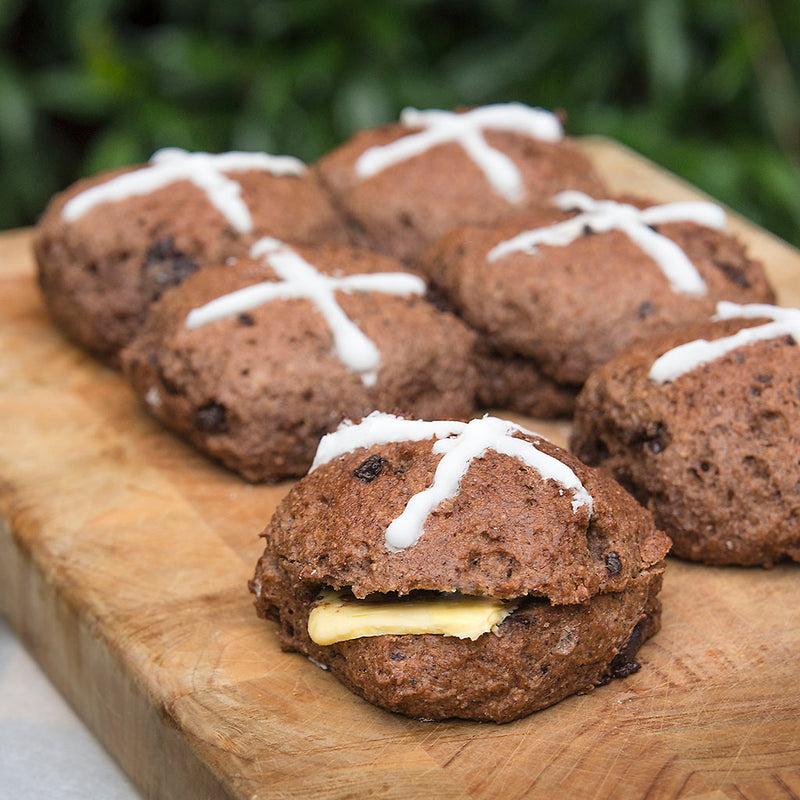 Keto Store NZ | Double Chocolate Hot Cross Buns | Recipe Pack