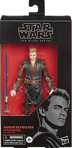 Anakin Skywalker (Padawan) Star Wars Episode 2 Black Series Figure