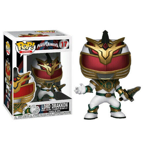 Power Rangers Lord Drakkon Figure No. 17 Funko Pop!