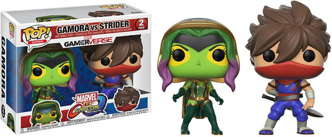 Gamora Vs Strider Marvel Vs Capcom Funko Pop! 2 Pack - Tempest Emporium