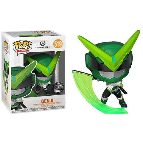 Genji Sentai Exclusive Figure No. 519 Funko Pop! - Tempest Emporium