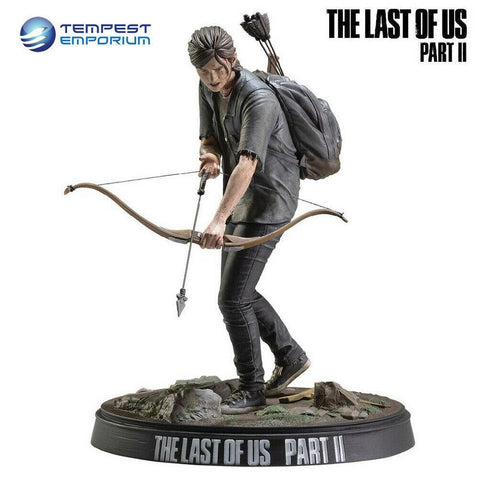 "The-Last-Of-Us-Part-2-Ellie-With-Bow-8""-Statue-Official-Preorder"