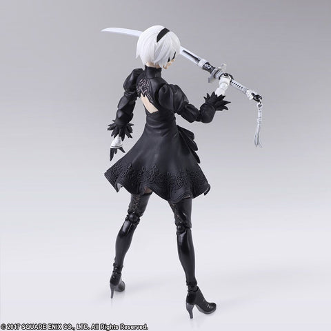 Nier Automata: Yorha No. 2 Type B Version 2.0 Black Bring Arts Figure