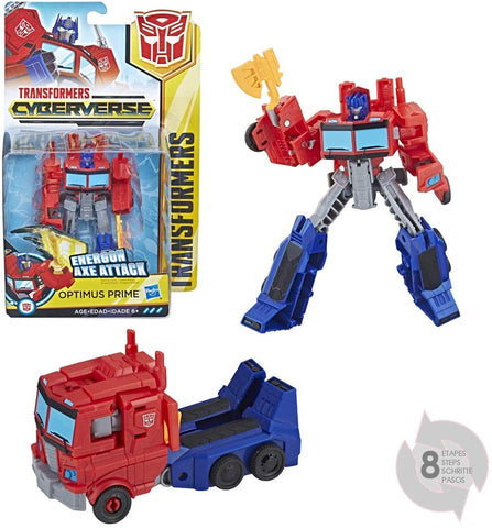 Transformers Cyberverse: Warrior Class Optimus Prime Figure - Tempest Emporium