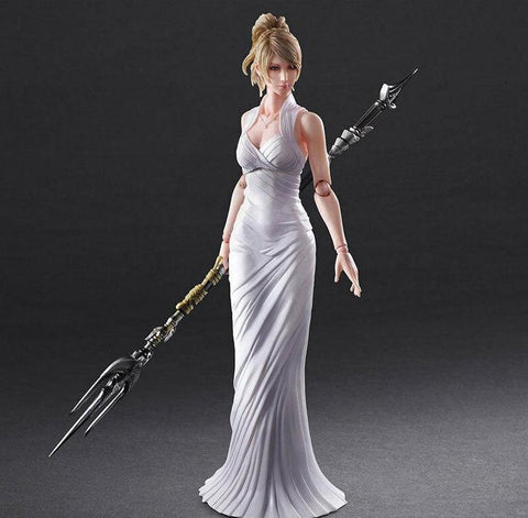 Final-Fantasy-XV-Lunafreya-Nox-Fleuret-Play-Arts-Kai-Official-Merchandise-Sealed