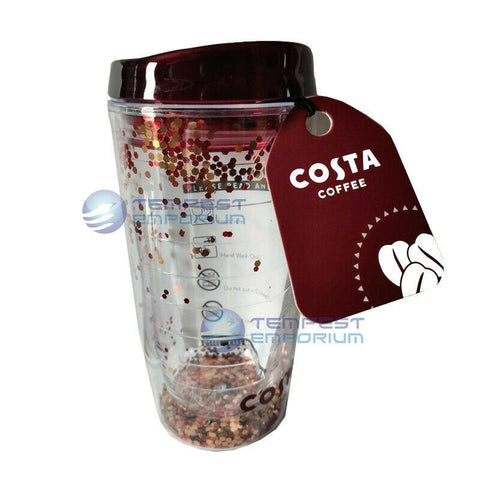 Costa-Coffee-Glitter-Travel-Cup-450ml-with-Gift-Tag-Mug-Tumbler
