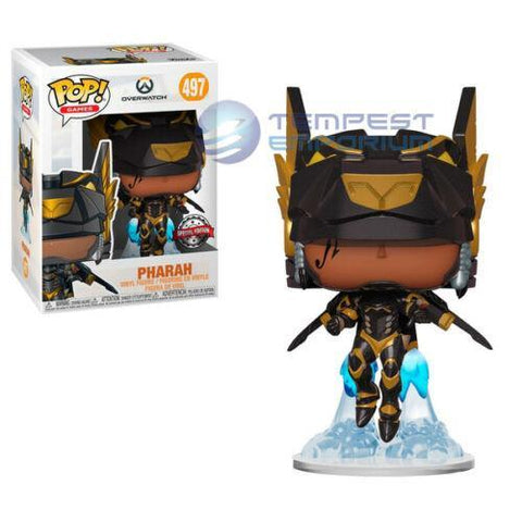 Funko-Pop!-Pharah-Special-Edition-Anubis-Overwatch-Figure-No.-497-Brand-New