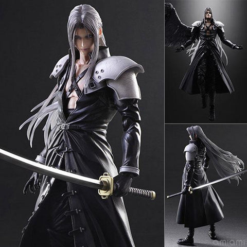 Sephiroth Final Fantasy VII Advent Children Play Arts Kai - Tempest Emporium