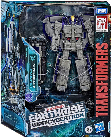 Transformers Generations War for Cybertron: Earthrise Leader Class Astrotrain