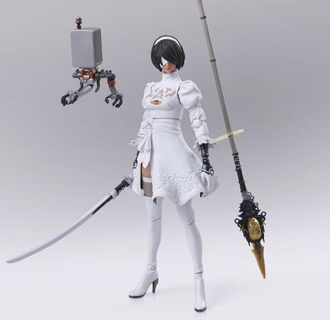Nier Automata: Yorha No. 2 Type B Version 2.0 White Bring Arts  Figure - Tempest Emporium
