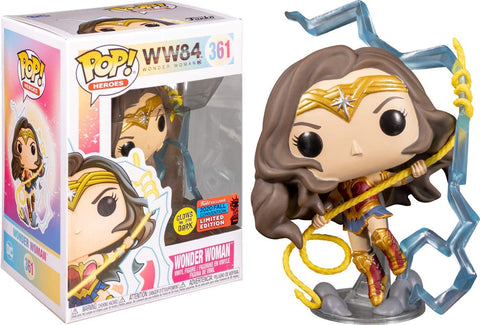 Wonder Woman - 1984 (UK Exclusive) Limited Edition Figure No. 361 Funko Pop!