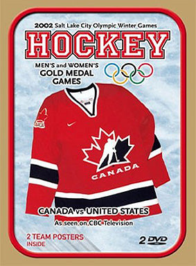 Hockey 2002 Men's & Women's Gold Medal Games - 2 DVD Set