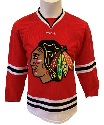 Chicago Blackhawks NHL Reebok - Junior Home Jersey