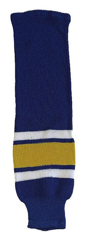 Charlestown Chiefs - Knitted Socks (Royal/Yellow)