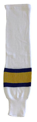 Charlestown Chiefs - Knitted Socks (White/Royal/Yellow)