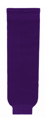 Solid Purple TS1086 - Knitted Socks