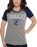 Vancouver Canucks NHL Alyssa Milano - Women's Conference T-Shirt