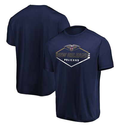 New Orleans Pelicans NBA Majestic - Showtime T-Shirt