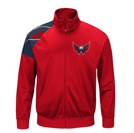 Washington Capitals NHL G-III Sports - Interception Full-Zip Track Jacket