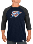 Oklahoma City Thunder Majestic - Excellent Attitude 3/4-Sleeve T-Shirt