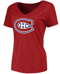 Montreal Canadiens NHL Fanatics - Women's Primary Logo T-Shirt