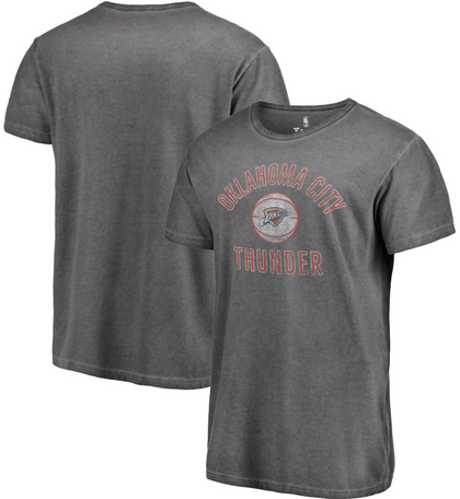 Oklahoma City Thunder NBA Fanatics - Icon Shadow Washed T-Shirt