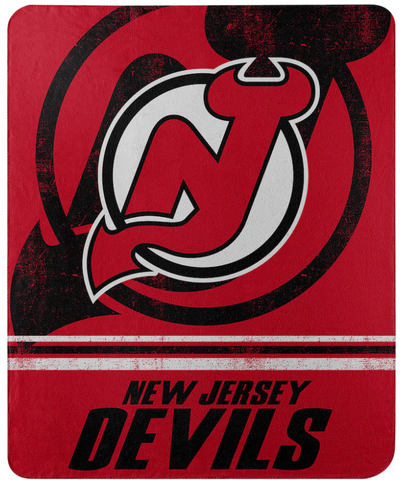 New Jersey Devils NHL Northwest Company - 50'' x 60'' Fleece Throw Blanket