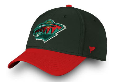 Minnesota Wild NHL Fanatics - Iconic Tech Speed Flex Cap