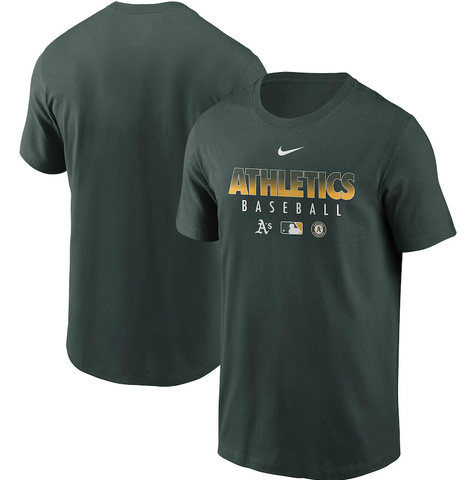 Oakland Athletics MLB Nike - Authentic Collection Performance T-Shirt