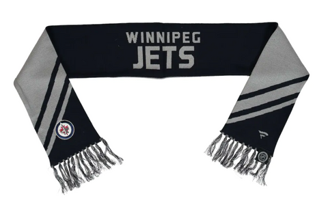 Winnipeg Jets NHL Fanatics - Diagonal Stripe Scarf