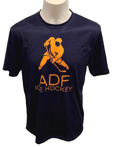 ADF Big Logo T-Shirt - Navy
