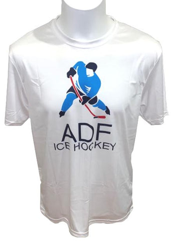 ADF Big Logo T-Shirt - White