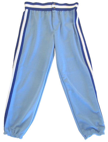 Athletic Knit – Double Knit League Baseball Pants (Powder-Royal-White)
