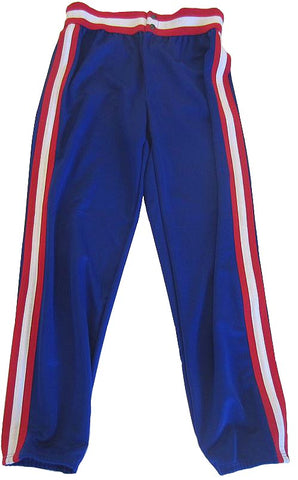 Athletic Knit – Double Knit League Baseball Pants (Royal-Red-White)