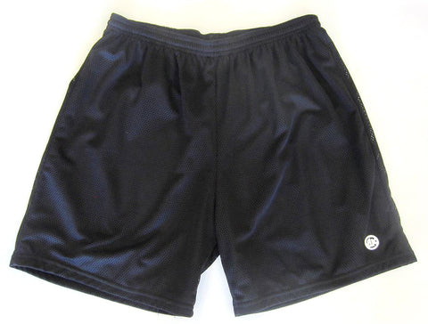 Athletic Knit Mesh - Multi-Purpose Sport Shorts (Black)