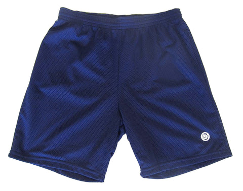 Athletic Knit Mesh - Multi-Purpose Sport Shorts (Navy)