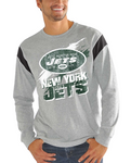 New York Jets NFL - Receiver Slub Jersey Long Sleeve T-Shirt