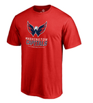 Washington Capitals NHL Fanatics - Team Lockup T-Shirt