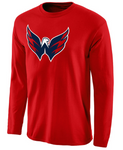 Washington Capitals NHL Fanatics - Primary Logo Long Sleeve T-Shirt