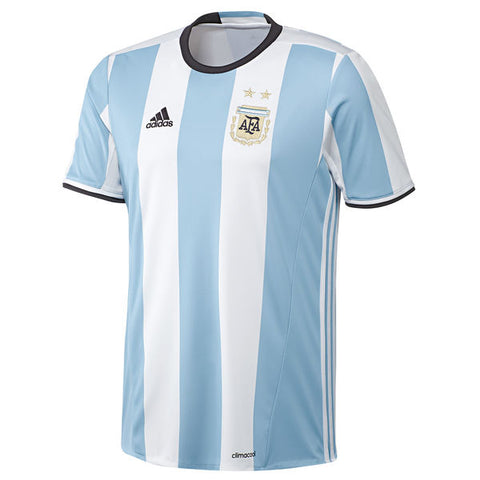 Argentina adidas Home Jersey - Light Blue-White