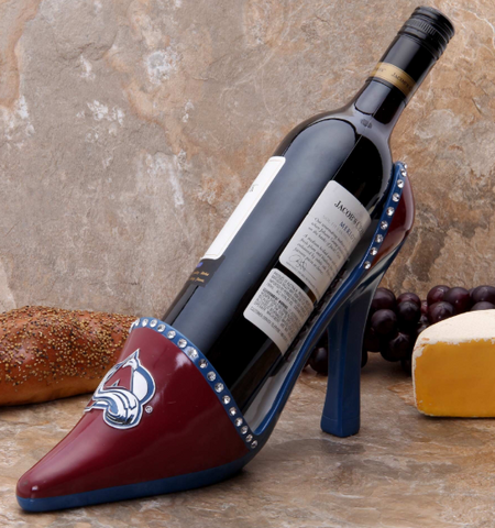 Colorado Avalanche NHL - Shoe Wine Bottle Holder