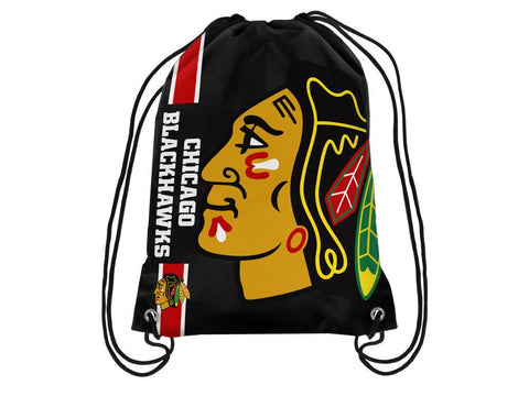 Chicago Blackhawks NHL Forever Collectibles - Big Logo Drawstring Backpack