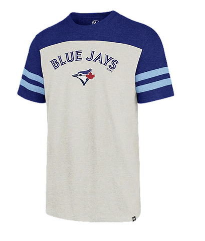 Toronto Blue Jays MLB '47 Brand - Brain Freeze Cuff Knit Tee