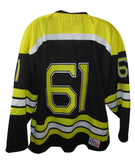 Eagles Hockey Pro Look - Black #61 Semi Pro Jersey