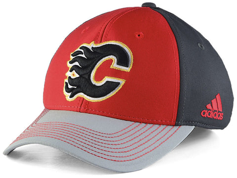 Calgary Flames NHL adidas - Structured Flex Cap
