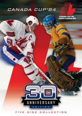 Canada Cup '84 DVD - 30th Anniversary 5 Disc Set