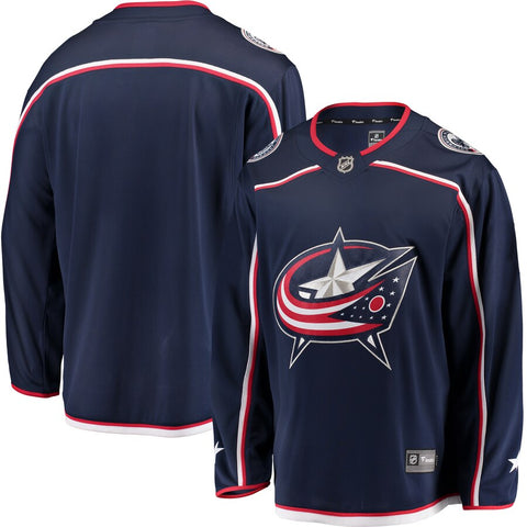 Columbus Blue Jackets NHL Fanatics – Breakaway Home Jersey