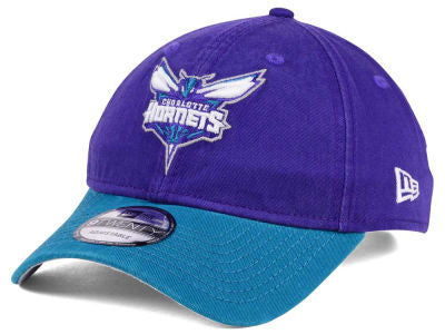 Charlotte Hornets NBA New Era - 2Tone Shone 9TWENTY Purple-Teal Cap