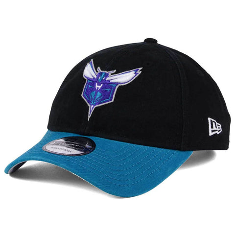 Charlotte Hornets NBA New Era - 2Tone Shone 9TWENTY Black-Teal Cap